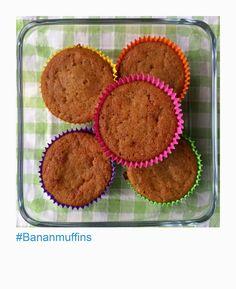 Banan muffis Bane, Muffins, Breakfast, Food, Morning Coffee, Muffin, Essen, Meals, Yemek