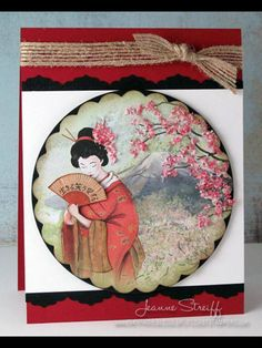 Katy Sue Designs Flowersoft Card