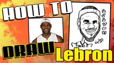 For all the Heat's fans, a tutorial on how to draw a quick caricature of Lebron James. Subscribe and follow our page for more tutorials! SUBSCRIBE HERE: http...