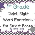 First Grade Dolch Sight Word Activities (Common Core and TEKS based)