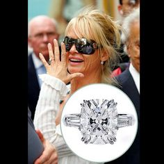 Look at that cut! Nicolette Sheridan's Engagement Ring
