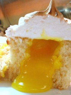 ...Citroen meringue muffins... hummm lekker en mooi!