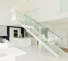SP200 staircase system by Steelpro | Metal stairs