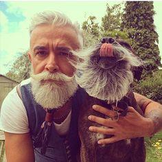 Brave & Bearded — The bearded best friends @alessandro_manfredini...