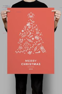 10+ Creative Christmas Poster Design Ideas & Examples - Daily Design Inspiration #46 Each day there are millions of pieces of content published on the internet. I mean, it's overwhelming how much we can produce and share with the world in a 24 hour time period. Especially in the design world. That's why I decided to put together the...
