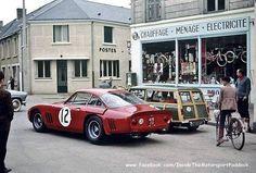 1963 Le Mans 24h, in the city !, Maranello Concessionaires Ltd. with the Ferrari 330 LMB # 4725SA nr12 (Sears-Salmon) 5th .