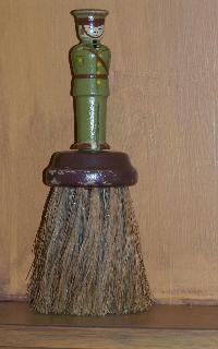 Early old whisk broom.  You can find me on ebay my seller name is sunnydaz8 or find me on www.picturetrail.com/sheepscotriverprimitives