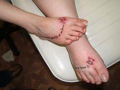 Matching Feet Tattoos