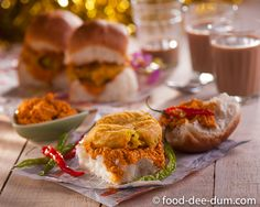 Home-made Vada Pav R