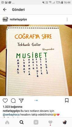 Cografya – Dünya mutfağı – The Most Practical and Easy Recipes Study Methods, Study Tips, Spring Tutorial, Study Hard, Study Notes, Study Motivation, School Supplies, Geography, Back To School