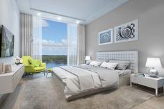 thiết kế phòng ngủ hiện đại, tinh tế với nội thất từ những thương hiệu hàng đầu tại Vinhomes Skylake #vinhomesphamhung #canhovinhomesskylake #chungcuvinhomesskylake