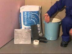 HOME DZINE Home Improvement |  Tips on using RhinoLite or CreteStone