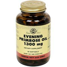 Amazon.com: Solgar - Evening Primrose Oil 1300mg 60 Softgels: Health & Personal Care