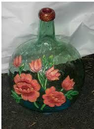 Resultado de imagen de garrafas cristal decoradas