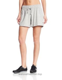 Women's Active Shorts - Champion Women's Jersey Short at Women's Clothing store: Denim Outfit For Women, Clothes For Women, Women Shorts, Dress For Short Women, Active Wear For Women, Women's Athletic Shorts, Gym Shorts, Jersey Shorts, Jersey Tops
