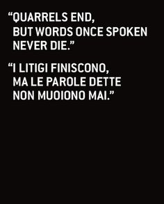 I love italian wisdom quotes... my Nonna had many...
