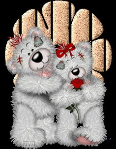 Forever friends Gifs images and Graphics. Forever friends Pictures and Photos. Tatty Teddy, Teddy Bear Quotes, Teddy Bear Images, Bear Wallpaper, Love Wallpaper, Animated Cartoons, Animated Gif, Teddy Beer, Beanie Baby Bears
