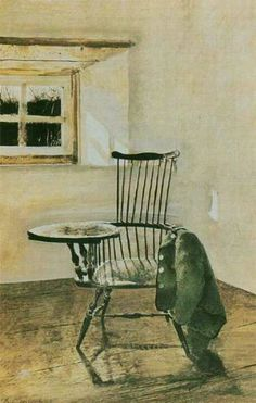 The writing chair, Andrew Wyeth. My favorite