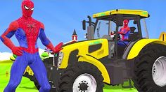 Dinosaurs Gorilla Animals & Teacher Spiderman Go To School | Funny SuperHeroes Finger Family Rhymes - YouTube