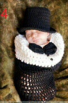 Baby's First Tuxedo and Hat