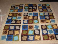 Father's Day Sudoku Quilt
