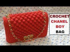 How to Crochet Bag CHANEL part 2 - Hướng dẫn móc túi xách CHANEL P2 - YouTube
