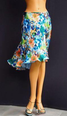 td 044 satin tango skirt