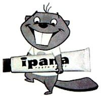 Bucky Beaver selling Ipana toothpaste. Never used the stuff myself, nor knew anyone who did either. But the ads were funny!