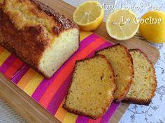 Muy Locos Por La Cocina: Bizcocho de Limón