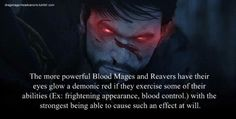 How come I feel like You are suppose to create a Blood Mage Hawke that Romances Anders? I feel like that is how Bioware wanted it to go...