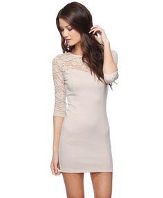 Sweetheart Lace Bodycon Dress  $14.50
