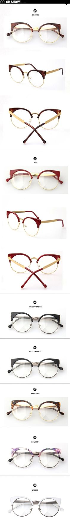 DRESSUUP Vintage Brand Designer Cat Eye Glasses Women Frame Glasses Clear Lens Eyeglasses Frame Women oculos de grau feminino-in Eyewear Frames from Women's Clothing & Accessories on Aliexpress.com | Alibaba Group