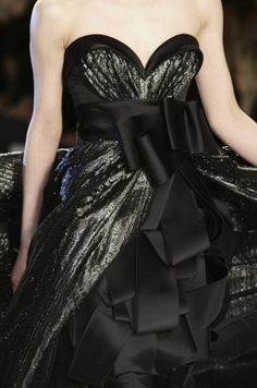 Gorgeous black ball gown