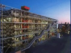 Centre Pompidou - one of my favorite buildings in Paris. I want to go back!
