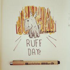 Pip the Dog - Ruff Day