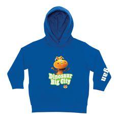 8f6cad136b3 Dinosaur Train Big City Buddy Royal Blue Toddler Hoodie. Dinosaur Train  PartyKids InspirePbs KidsKids ShopToddler ...