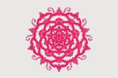 ~PAPER DOLL EVE: A GIRL DREAMS~: Year Of The Rose: Pink Rose Mandala