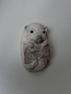 egel om op te hangen, naam en geboorte datum kan erop geschilderd worden