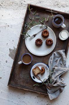 light grey breakfast/morning scene