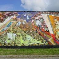 Harrisburg Underpass Gateway to the East End murals Designed and