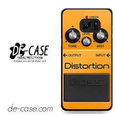 Boss Distortion Pedal DEAL-2049 Samsung Phonecase Cover For Samsung Galaxy Note 7