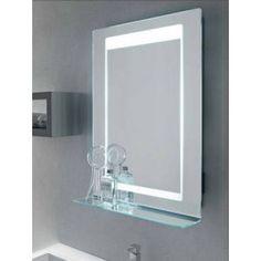 specchio e specchiera bagno retroilluminato led bluetooth leo vanit casa