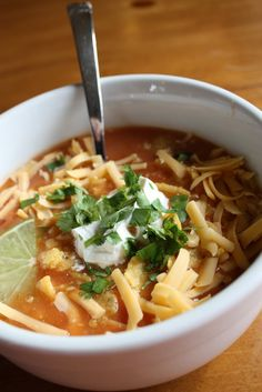 Dinner Club: A Soup Party (and Chicken Tortilla) - Lulu the Baker