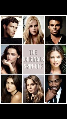 Cast of The Vampire Diaries spin-off: The Originals :)
