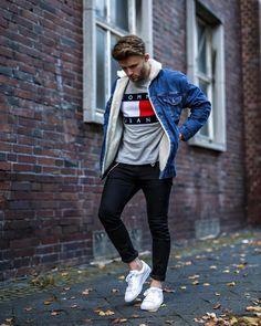 4,687 отметок «Нравится», 56 комментариев — Mensfashion ▪️Street ▪️Style (@mensfashion_guide) в Instagram: «Style by @luke.baldman Via @gentwithstreetstyle Yes or no?  Follow @mensfashion_guide for dope…»