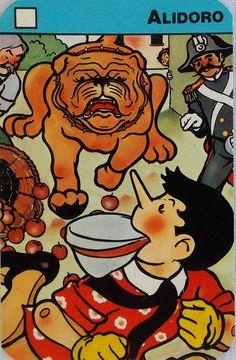Funny Pinocchio card game by Il Meneghello.