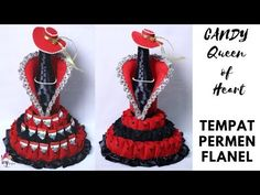 CARA MEMBUAT TEMPAT PERMEN DARI FLANEL DAN BOTOL BEKAS | HOW TO MAKE BEST OUT OF WASTE BOTTLE | - YouTube Candy Boxes, Candy Making, Felt Fabric, Graduation Gifts, Fabric Crafts, Recycling, Barbie, Make It Yourself, Dolls