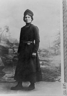 Sami activist and politician Elsa Laula Renberg (1877–1931).