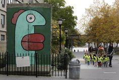 Pezzi del muro di Berlino, nel mondo New York, Stati Uniti