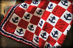 Ravelry: Anchor's Away pattern by Heather Singell $3.99